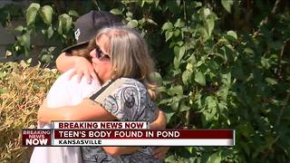 Teen's body pulled from Racine County pond - Video