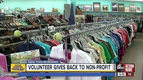 Pinellas teen volunteers for group that helped her as an infant