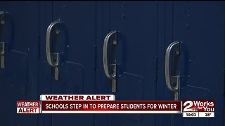 Schools step in to prepare students for winter