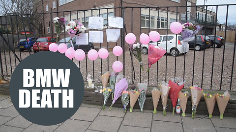 Girl who died after BMW ploughed into her as she waited at bus stop has been named locally