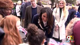 Royals celebrate International Women's Day - Video