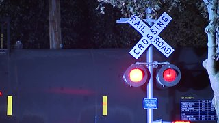 Several roads are blocked after a person was struck, killed by train in Lakewood