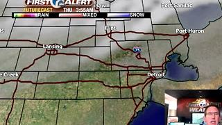 Big cold front Thursday - Video