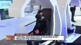 Virtual technology is playing a key role at the 2018 NAIAS - Video