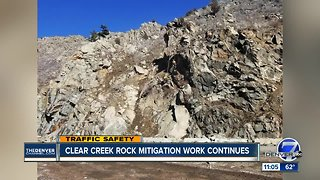 Crews still working in Clear Creek Canyon