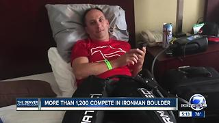 IRONMAN Triathlon attracts more than 1,200 athletes to Boulder - Video