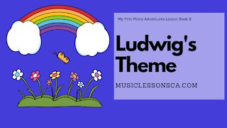 Piano Adventures Lesson Book B - Ludwig's Theme