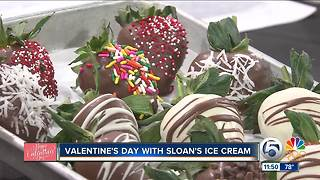 Valentine's Day with Sloan's Ice Cream