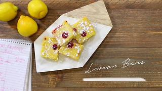 Lemon raspberry bars that your family will love this summer!