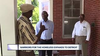Warriors for the Homeless expands to Detroit - Video