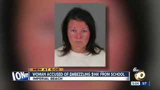 Former Imperial Beach PTA president charged with embezzlement