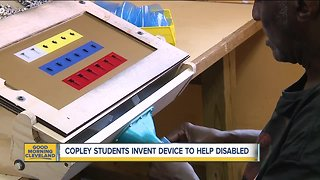 High school students' invention helps workers with disabilities