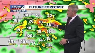 Partly cloudy, breezy and warm Thursday - Video