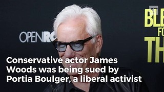James Woods Beats Lawsuit With 1 Twitter Character - Video