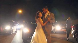 Couple Has First Dance In Highway Traffic - Video