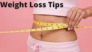 Important Weight Loss Tips