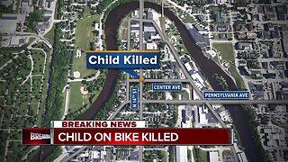 A child was killed in Sheboygan after being hit by a garbage truck
