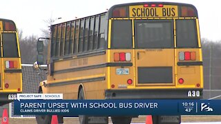 Bartlesville parents say bus driver bullied their kids