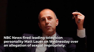 What Matt Lauer Did to O'Reilly During Interview Resurfaces Following Harassment Allegations - Video