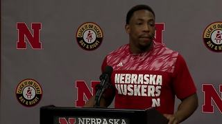 Nebraska football preseason press conference: Devine Ozigbo - Video