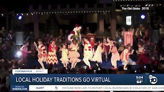 San Diego holiday traditions go virtual this year