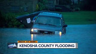 Kenosha County Flooding - Video