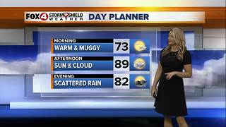 FORECAST: Rain Chances Decrease into the Weekend - Video