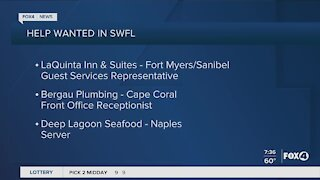 Help Wanted in Southwest Florida