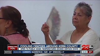 Cooling Centers around Kern County