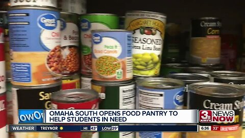 Omaha South opens food pantry to help students in need