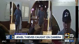 Take a look: Scottsdale police looking for alleged jewel thief - Video