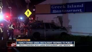 Largo restaurant forced to rebuild after truck slams into building - Video