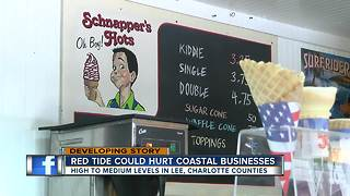 Red Tide could affect businesses - Video