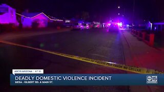 Mesa police investigating after two people were shot and killed Saturday night