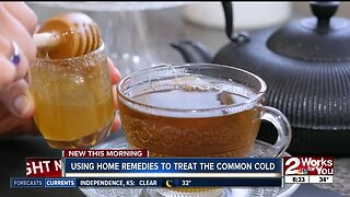 Using home remedies to treat the common cold