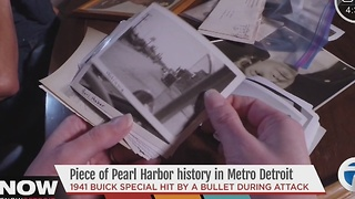 Pieces of Pearl Harbor history in metro Detroit - Video