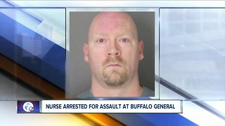 Nurse at Buffalo General Hospital accused of assaulting patient