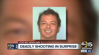 Police looking for Surprise homicide suspect - Video