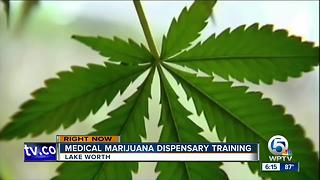 Medical marijuana dispensary training