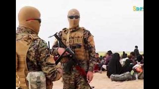 Hundreds of IS Fighters Surrender Near Baghuz, US-Backed SDF Says - Video
