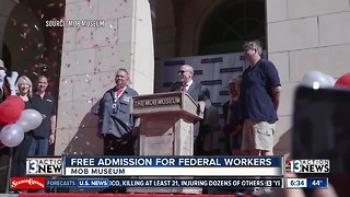Free admission for federal workers