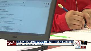 Olathe schools launch suicide prevention program