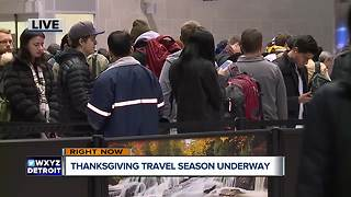 Thanksgiving travel season underway - Video