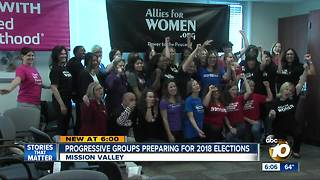 Progressive groups preparing for 2018 elections - Video
