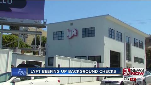 Lyft plans to beef up their background checks