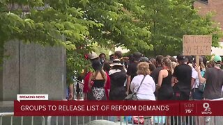 Protesters release list of demands released