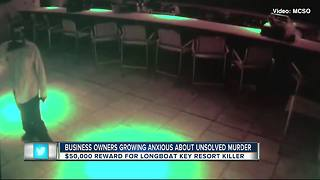 Business owners growing anxious about unsolved murder