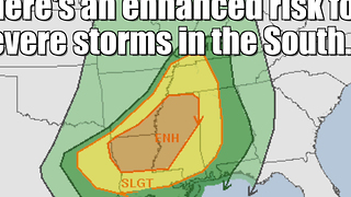 Rare November severe weather outbreak - Video