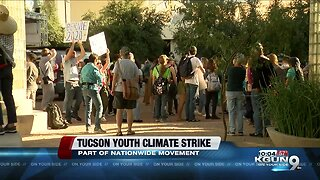 Hundreds take part in Tucson Youth Climate Strike