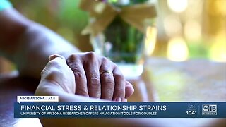 Financial stress and relationship strains